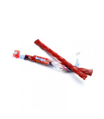 Twizzlers Strawberry Candy Straw - SINGLE (9g) Sweets and Candy Twizzlers