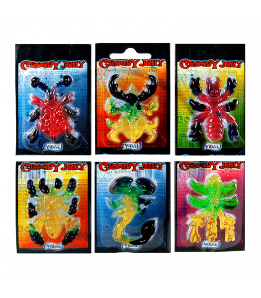 Vidal Creepy Crawly Gummy (11g) Sweets and Candy