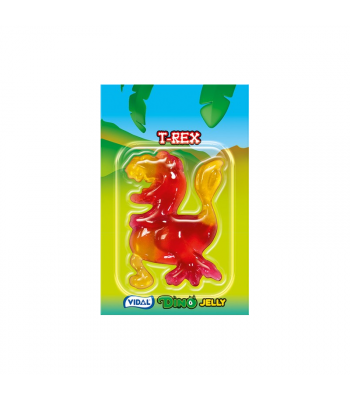 Vidal Dino Jelly (11g) Sweets and Candy