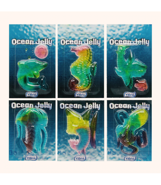Vidal Ocean Gummi (11g) Sweets and Candy