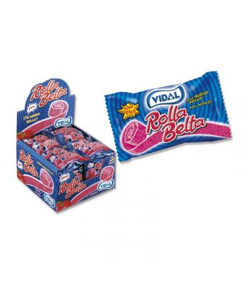 Vidal Rolla Belta Strawberry - SINGLE Sweets and Candy Vidal