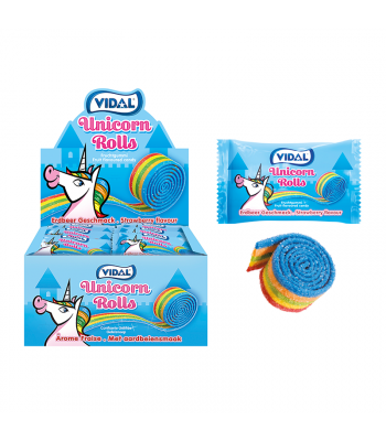 Vidal Rolla Unicorn Roll - SINGLE Sweets and Candy Vidal