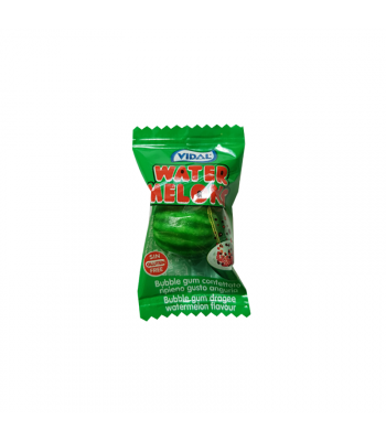 Vidal Watermelons Bubble Gum - SINGLE Sweets and Candy