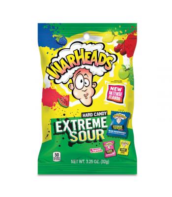 Warheads Extreme Sour Hard Candy 3.25oz (92g) Hard Candy Warheads
