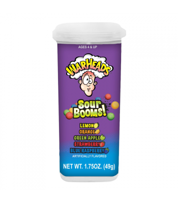 Warheads Sour Booms! - 1.75oz (49g) Sweets and Candy Warheads