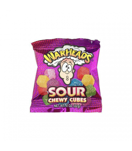 Warheads Trial Size Chewy Cubes - 0.8oz (22g) Sweets and Candy Warheads