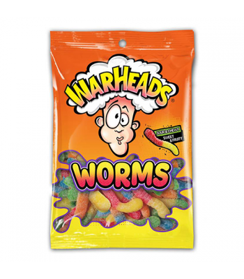 Warheads - Sour Worms - 5oz (142g)