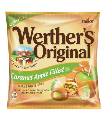 Werther's Original Caramel Apple Filled Hard Candies 2.65oz (75g)