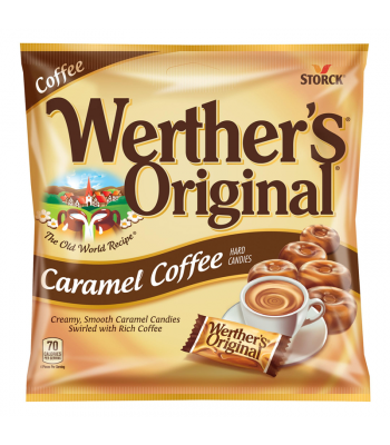 Werther's Original Caramel Coffee Hard Candies 2.65oz (75g)