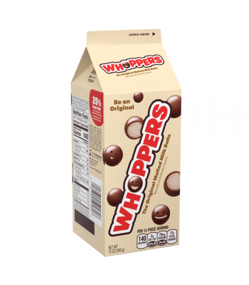 Whoppers Malted Milk Balls - 12oz (340g) Sweets and Candy Whoppers