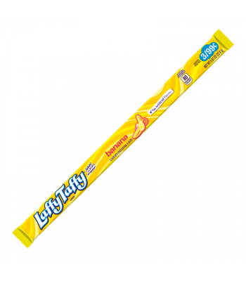 Laffy Taffy Banana Rope Candy - 0.81oz (22.9g) Sweets and Candy Nestle