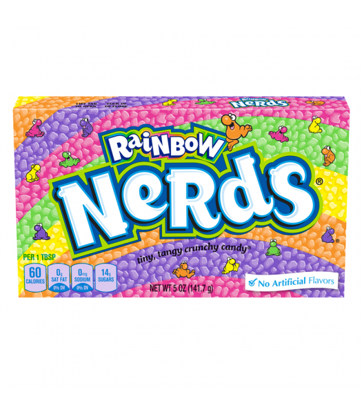 Rainbow Nerds Theatre Box 5oz (141.7g) Sweets and Candy Nestle