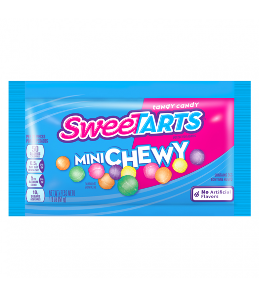 Clearance Special - Sweetarts Mini Chewy - 1.8oz (51g) **Best Before: November 19** Clearance Zone