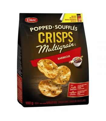 Dare - Popped Multigrain Crisps - Barbecue - 100g [Canadian]