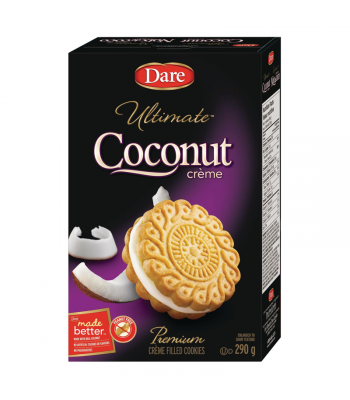 Dare - Ultimate Coconut Crème Filled Cookies - 290g [Canadian]