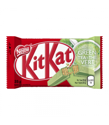 Kit Kat Green Tea - (35g) Canadian Products Nestle