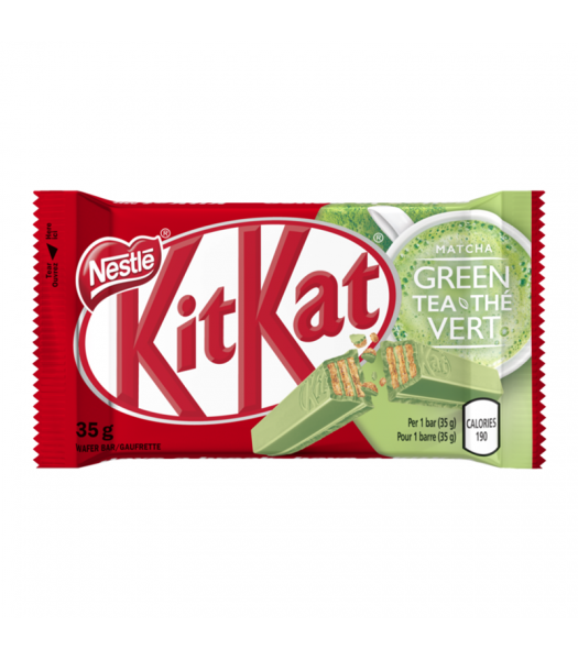 Clearance Special - Kit Kat Green Tea - (35g) **Best Before: 31 January 2019**