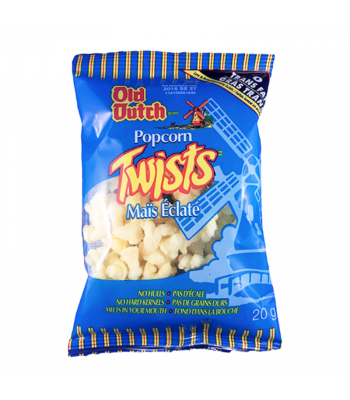 Old Dutch Popcorn Twists (20g) Canadian Products