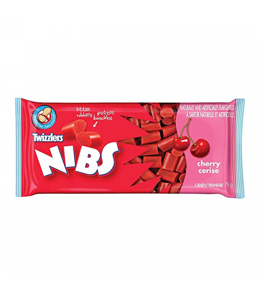 Twizzlers Nibs Cherry 75g