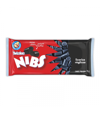 Twizzlers Nibs Licorice 75g