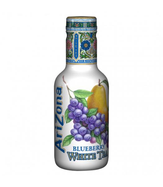 AriZona Blueberry White Tea - 500ml Soda and Drinks Arizona