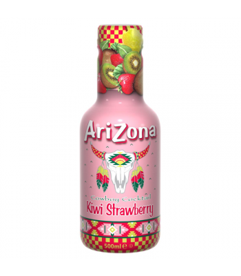 AriZona Cowboy Cocktail Kiwi Strawberry - 500ml Soda and Drinks Arizona