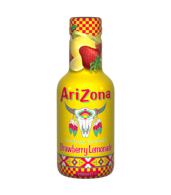 AriZona Cowboy Cocktail Strawberry Lemonade - 500ml Soda and Drinks Arizona