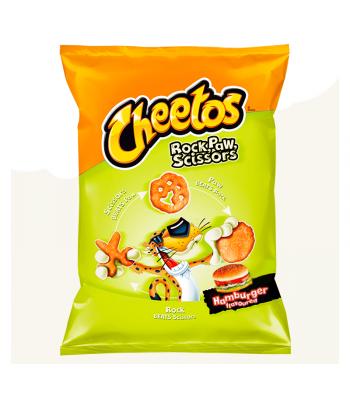 Frito Lay Cheetos Rock, Paw, Scissors Hamburger - 85g (EU) Snacks and Chips Frito-Lay