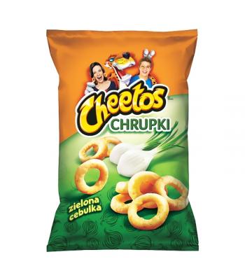 Frito Lay Cheetos Green Onion - 145g  Snacks and Chips Frito-Lay