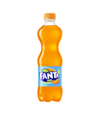 Fanta Mandarin 500ml (EU) Soda and Drinks Fanta