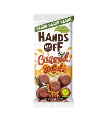 Hands Off My Chocolate Vegan Caramel Seasalt - 3.5oz (100g) Sweets and Candy Hands Off My Chocolate