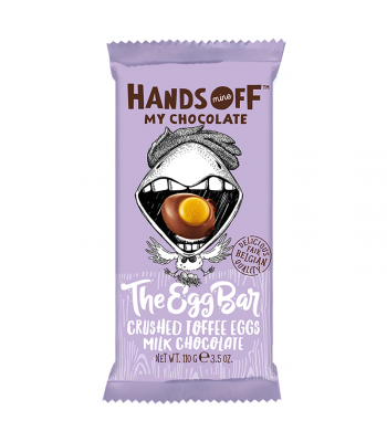 Hands Off My Chocolate - The Egg Bar Crushed Toffee Eggs Milk Chocolate - 3.5oz (110g) Sweets and Candy Hands Off My Chocolate