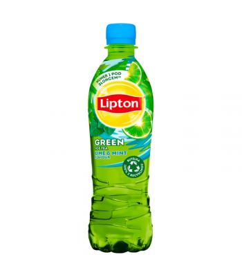 Lipton Mint Lime Ice Tea - 500ml (EU) Soda and Drinks