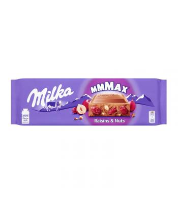 Milka MMMAX Raisins & Hazelnuts - 270g (EU) Sweets and Candy Milka