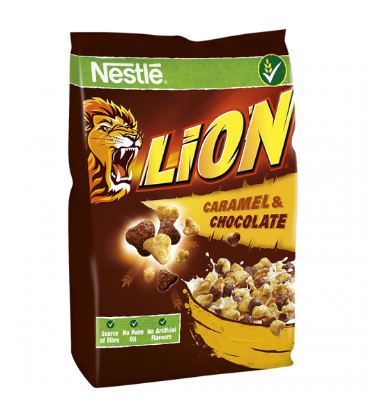 Nestle Lion Caramel & Chocolate Cereal - 250g Food and Groceries Nestle