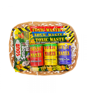 Toxic Waste Sour Power Hamper Gift Hampers Toxic Waste