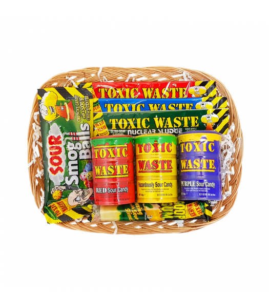 Toxic Waste Sour Power Hamper Gift Hampers