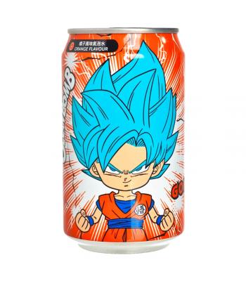 Ocean Bomb Dragon Ball Z Goku Orange Flavour Sparkling Water (330ml) Soda and Drinks